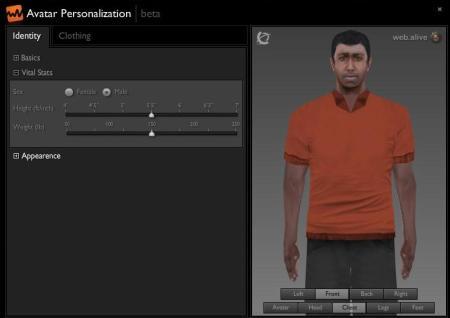 Lenovo eLounge (screen capture of author's avatar)