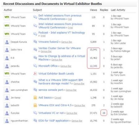 VMworld.com - Discussion Board