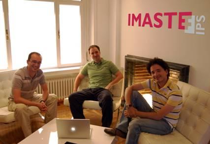 IMASTE Co-Founders: Miguel Fernandez Lapique, Aitor Zabala, Miguel Arias