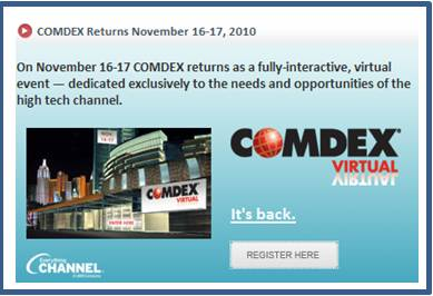 COMDEX Re-Launches As A Virtual Trade Show (1/3)