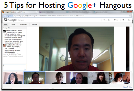 5 Tips for Hosting Google+ Hangouts