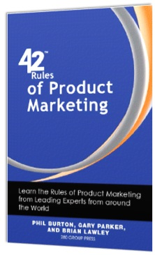 Book: 42 Rules of Product Marketing