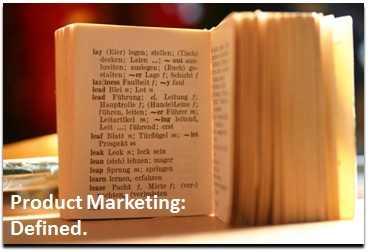 So Just What Is Product Marketing? (1/4)