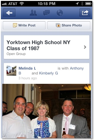 How I Attended My 25th High School Reunion on Facebook (1/5)
