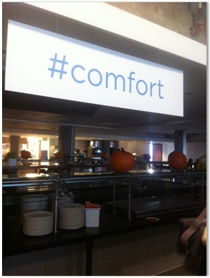 Twitter's HQ is full of @names and hash tags