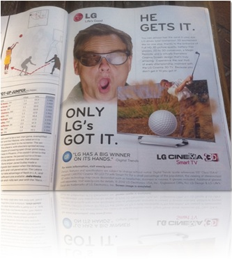 I pay attention to the ads in SI