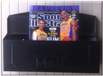I love checking my mailbox for the week's issue of SI