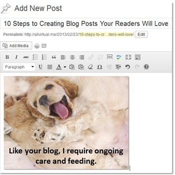 10 Steps to Creating Blog Posts Your Readers Will Love (4/4)