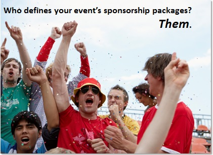 Let attendees define your event's sponsorship packages