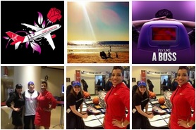 Photos posted to Twitter by @VirginAmerica