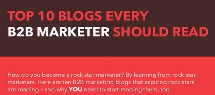 Ten blogs every marketer should read