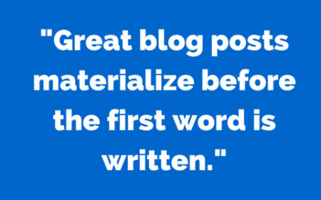 a quote on great blog posts