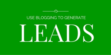 use blogging to generate leads